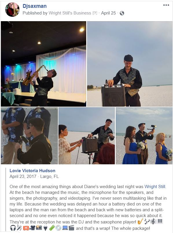 Tampa Wedding DJ | Tamps DJ Services DJ