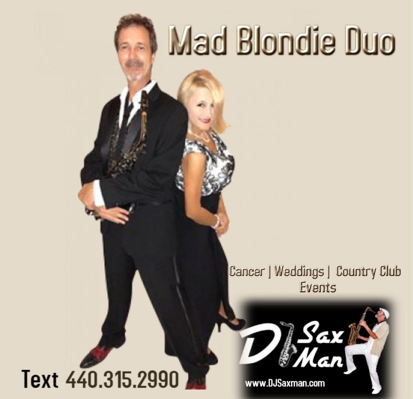 Mad BLondie Duo Poster
